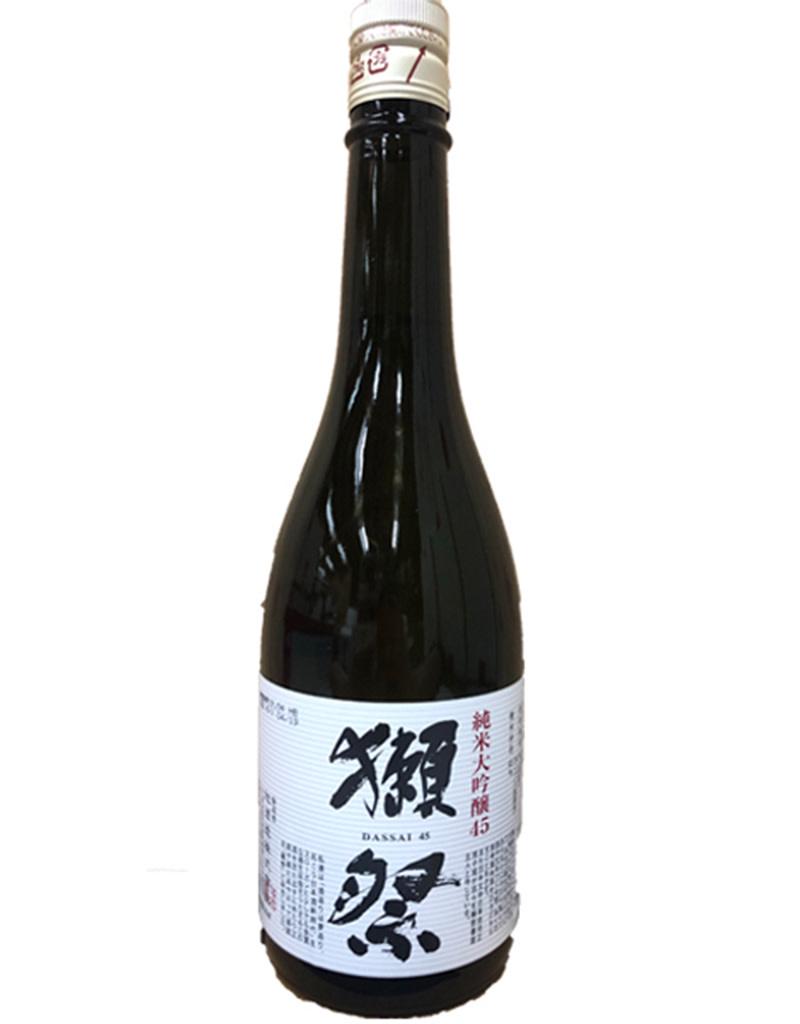 Asahi Shuzo Dassai '45' Junmai Daiginjo Sake, Japan 720mL