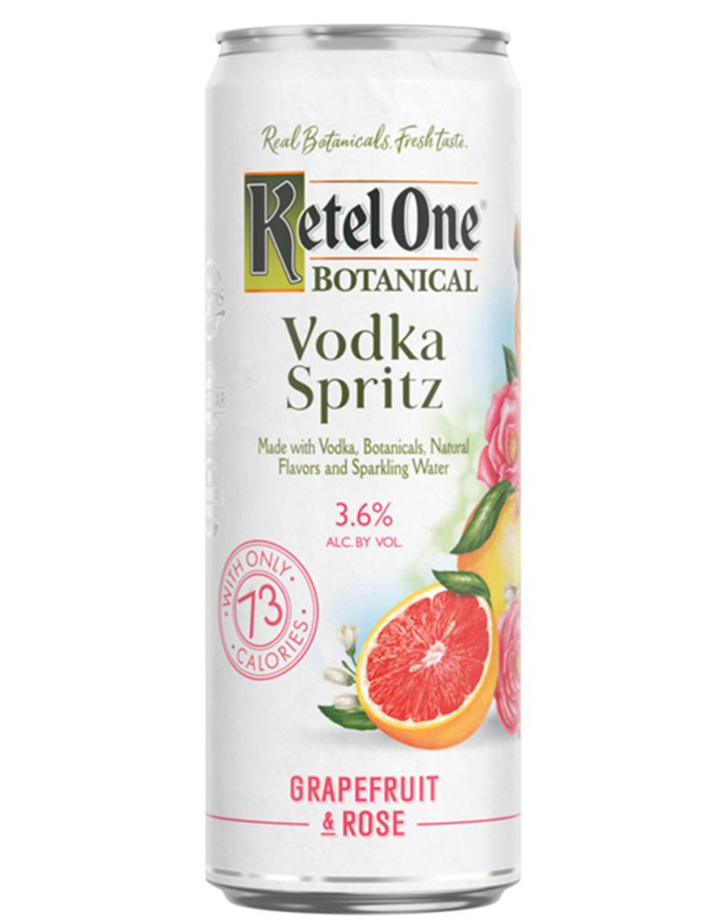 Ketel One Ketel One Botanical Grapefruit & Rose Vodka Spritz 4pk Cans