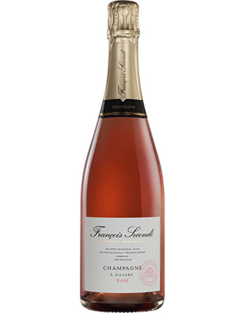 François Secondé Grand Cru Brut Rosé Champagne, France