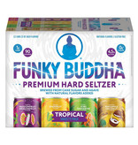 Funky Buddha Brewery Naturally Light Tropical Hard Seltzer Variety 12pk Cans