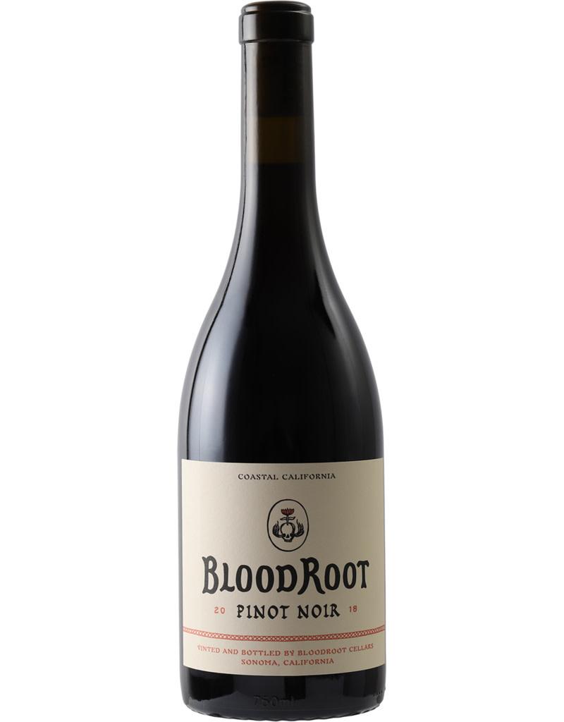 BloodRoot 2018 Pinot Noir Sonoma County, California