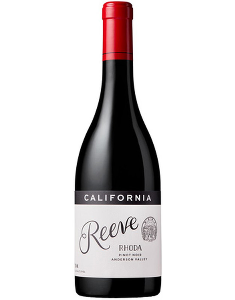 Reeve Wines 2018 'Rhoda' Pinot Noir, Anderson Valley, Sonoma County, United States