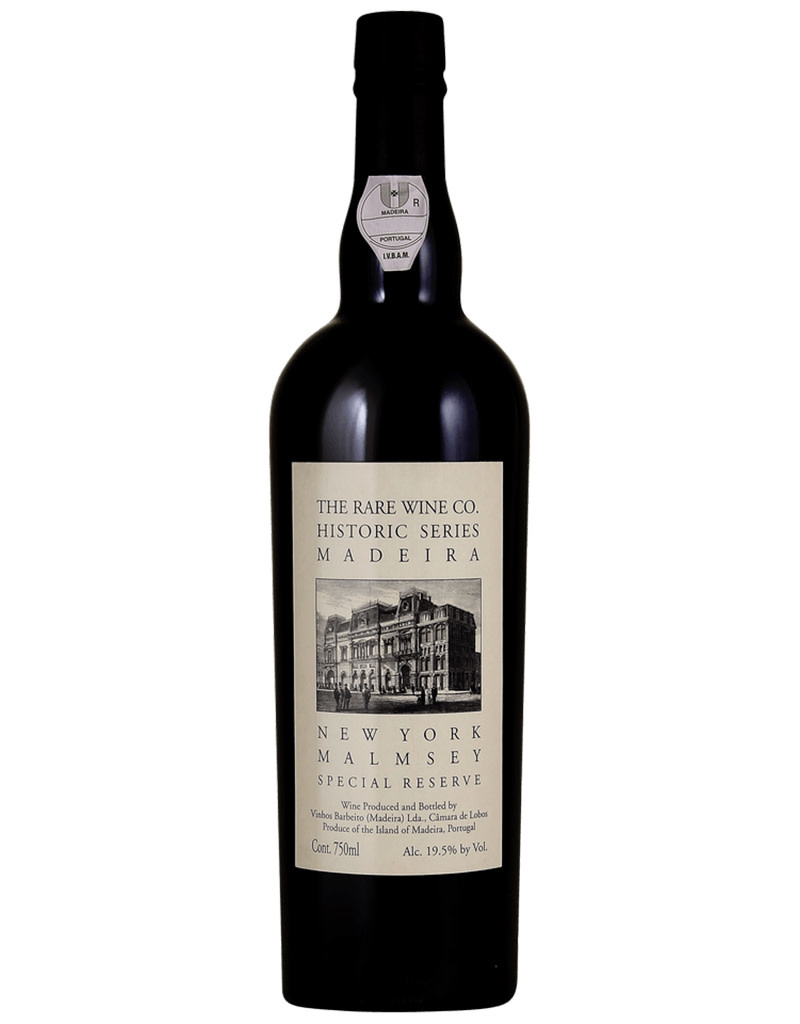 The Rare Wine Co. Historic Series New York Malmsey Special Reserve Madeira, Portugal