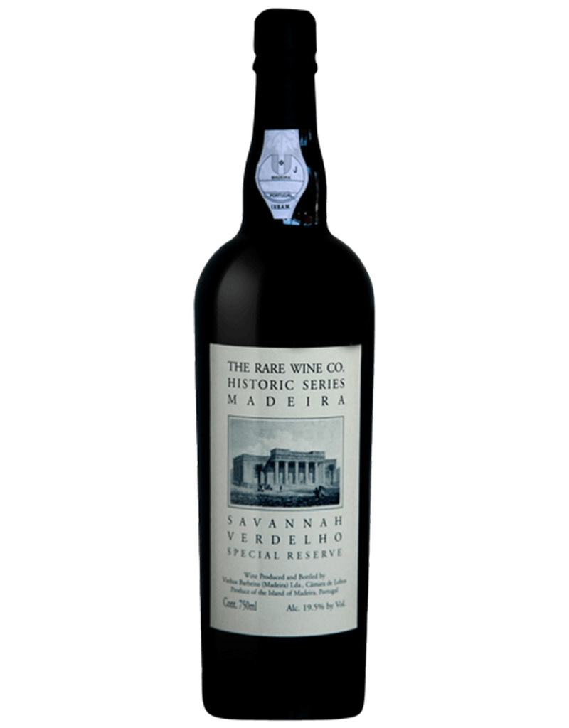 The Rare Wine Co. Historic Series Savannah Verdelho Special Reserve Madeira, Portugal