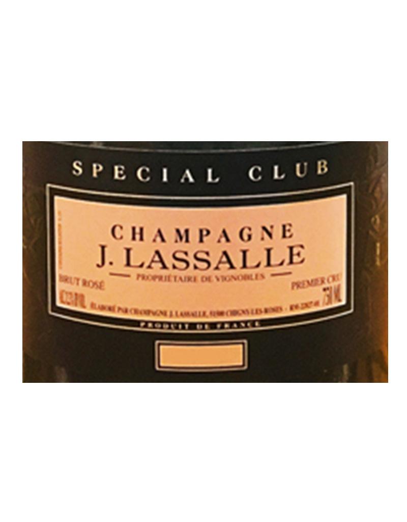 J. Lasalle 2013 Brut Rosé Cuvée Spéciale Club Premier Cru Millésime Champagne, France