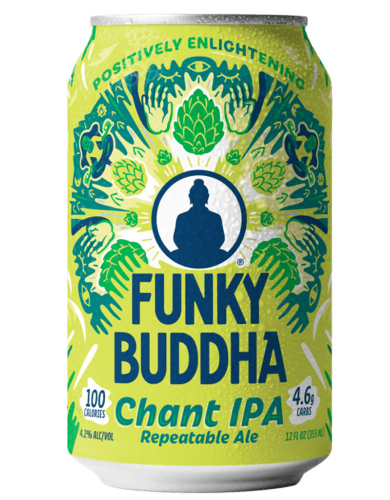 Funky Buddha Brewery Funky Buddha Brewery 'Chant' IPA, Florida 6pk Cans