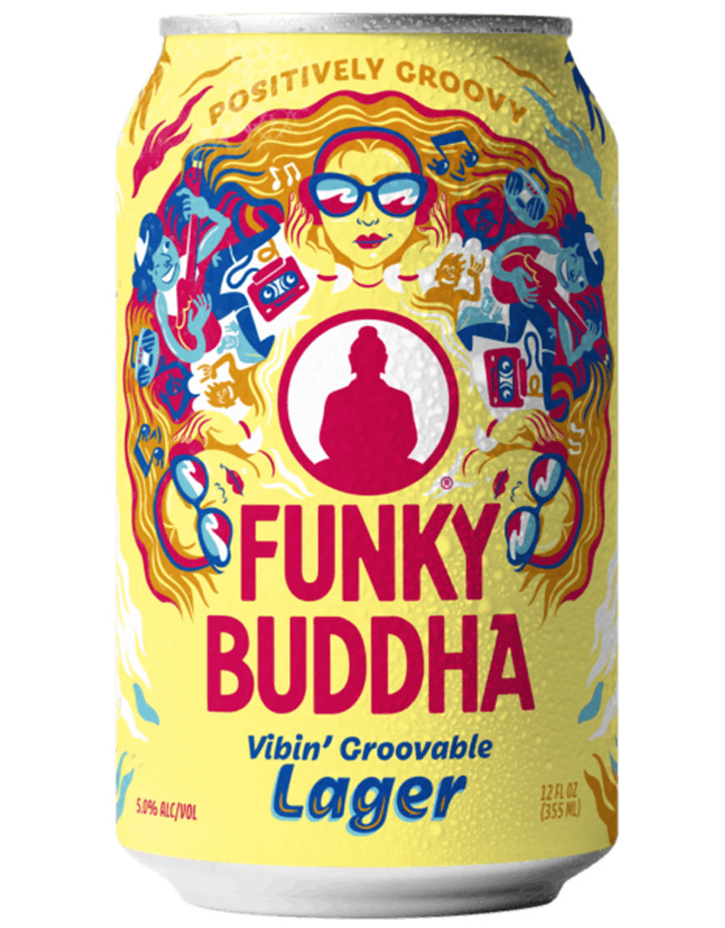 Funky Buddha Brewery Funky Buddha Bewery 'Vibin Groovable' Lager Beer, 6pk Cans