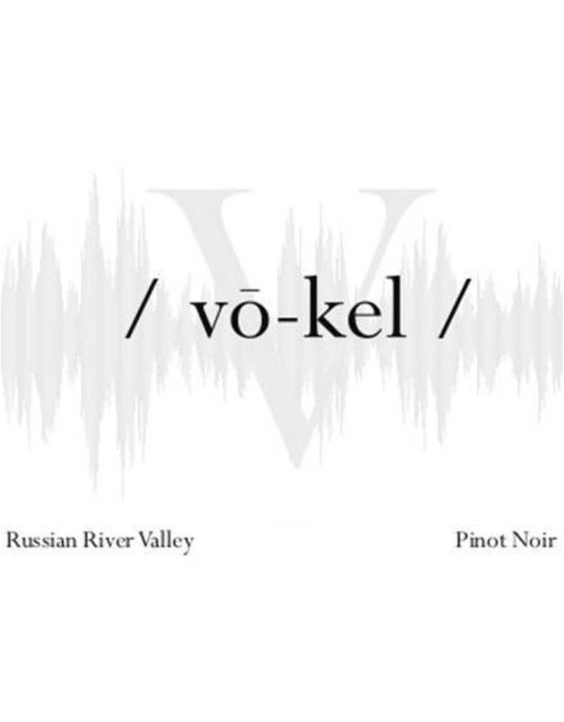 Vō-kel 2018 Chardonnay, Viszlay Vineyard, Russian River Valley, Sonoma, California