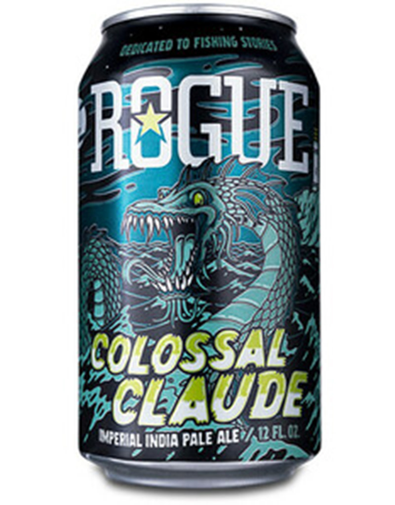 ROGUE Colossal Claude Imperial IPA, Oregon 6pk Cans