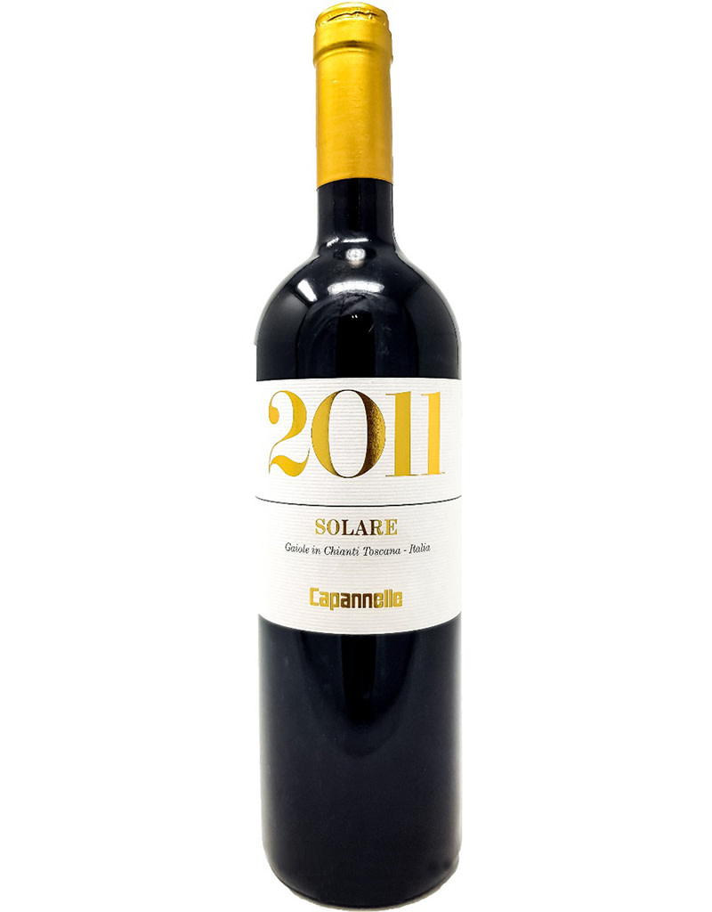 Capannelle 2011 Solare, Toscana IGT, Italy 375mL