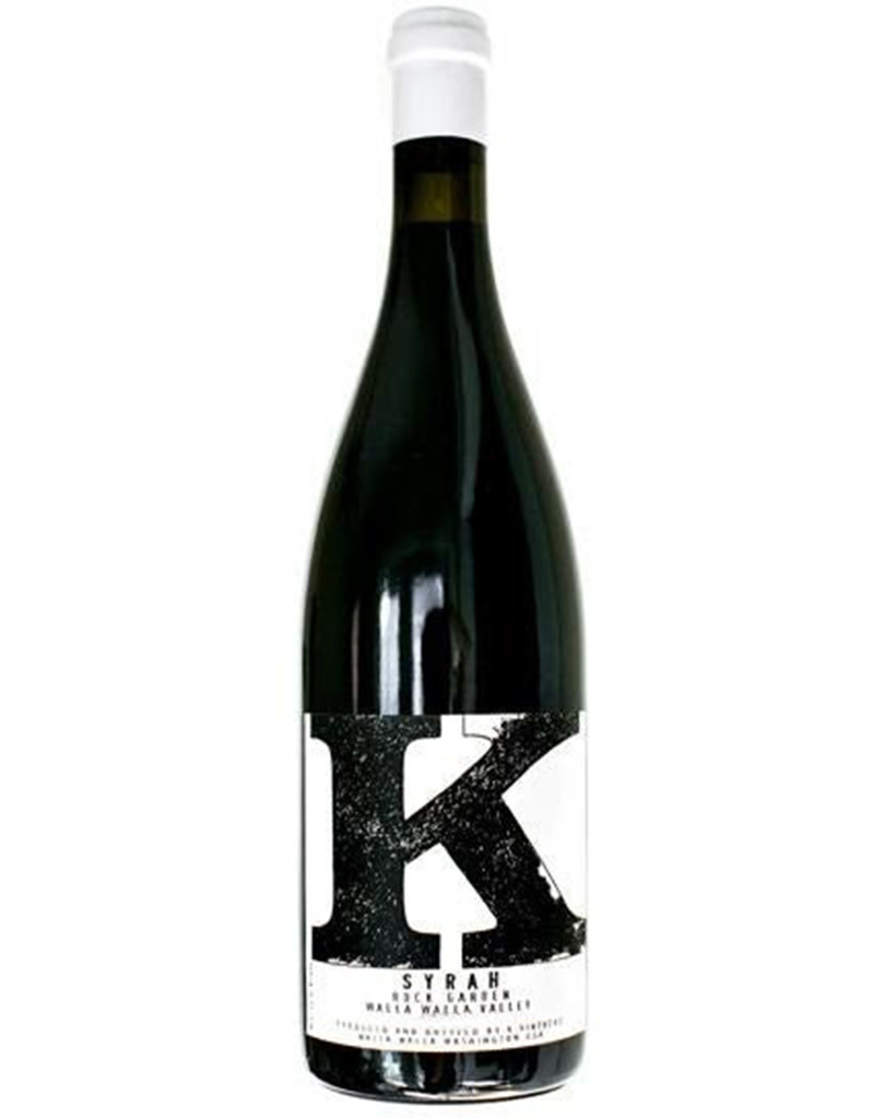 Charles Smith K Vintners 2016 Rock Garden Syrah, Walla Walla Valley, Washington