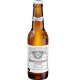 Anheuser-Busch Budweiser Zero Lager 6pk Beer Bottles [Non Alcoholic]