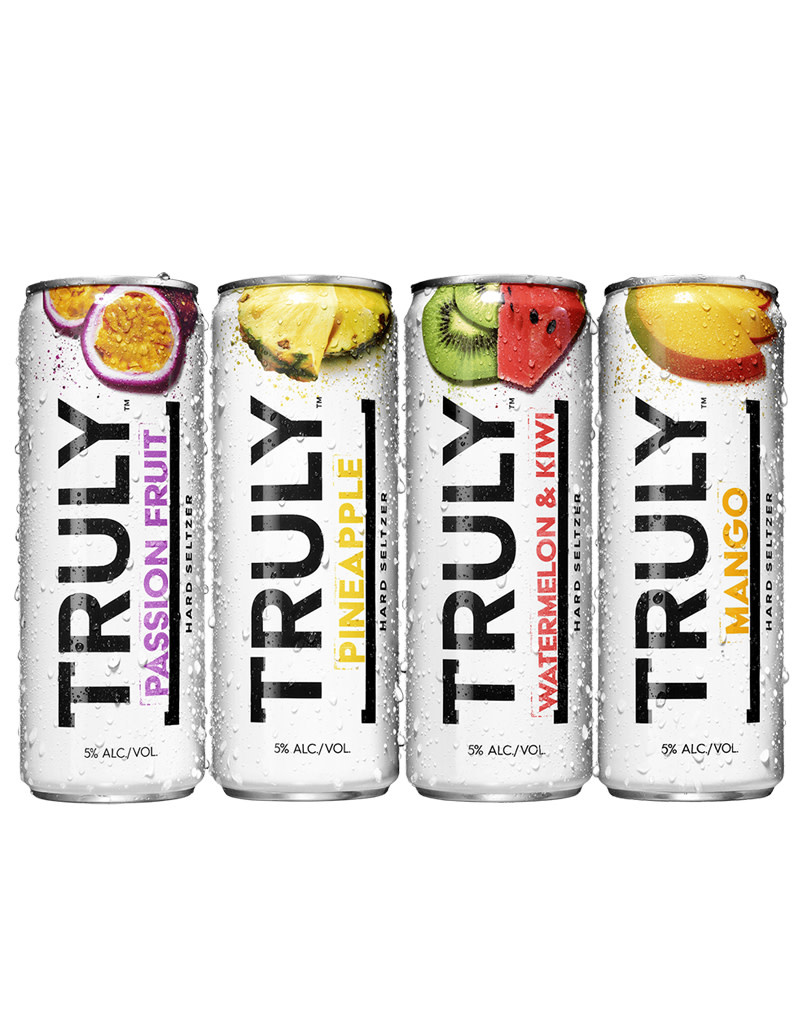 Truly Spiked & Sparkling Tropical Seltzer 12pk Cans