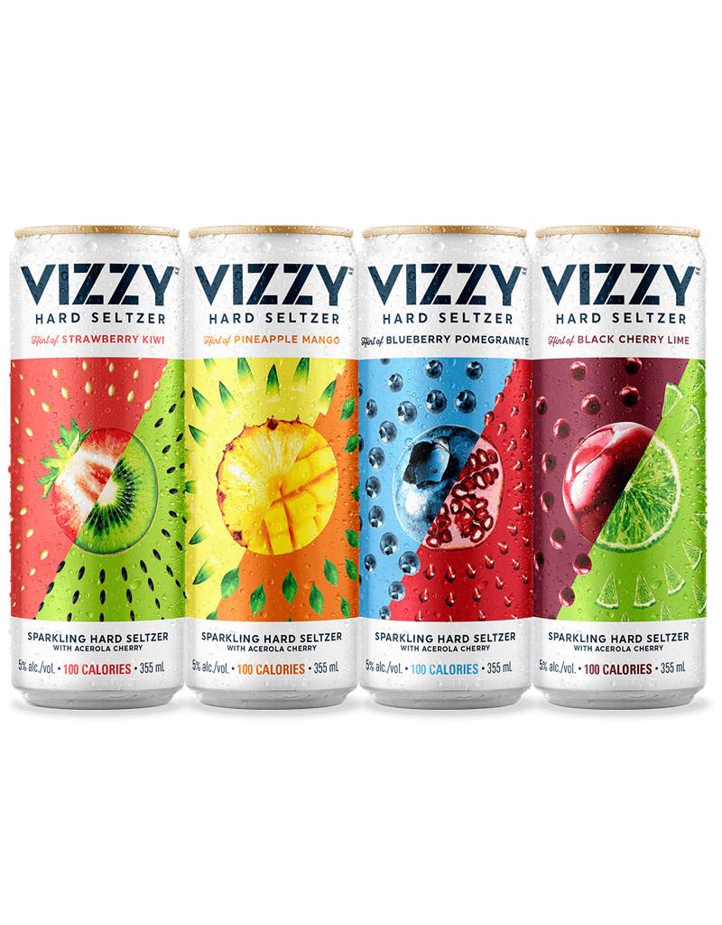 VIZZY Hard Seltzer Variety No. 1, Texas 12pk Cans