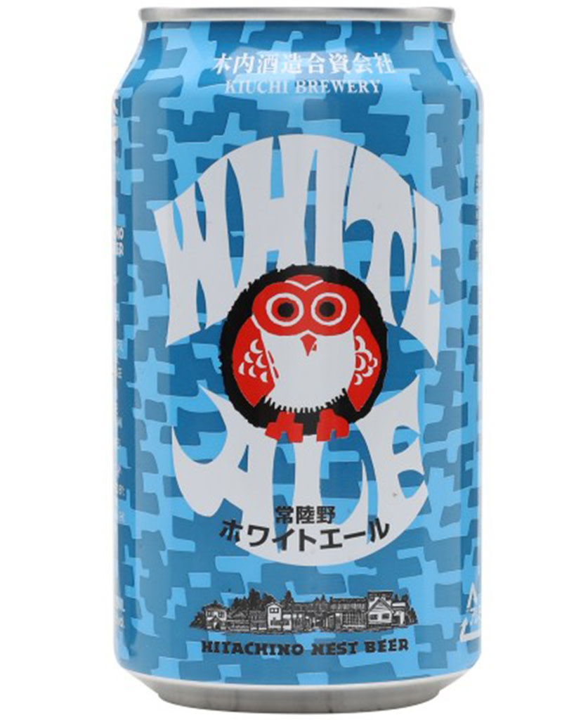 Kiuchi Brewery Hitachino Nest White Ale Beer, Japan, 4pk Cans