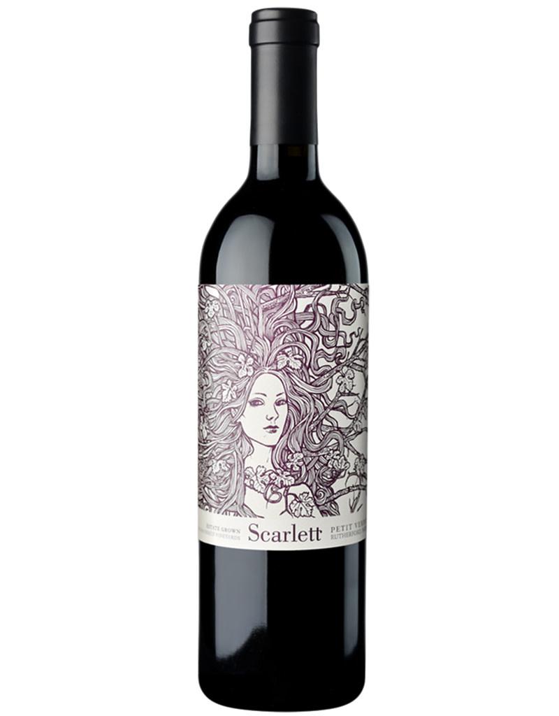 Scarlett Wines 2017 Petit Verdot, Rutherford, California