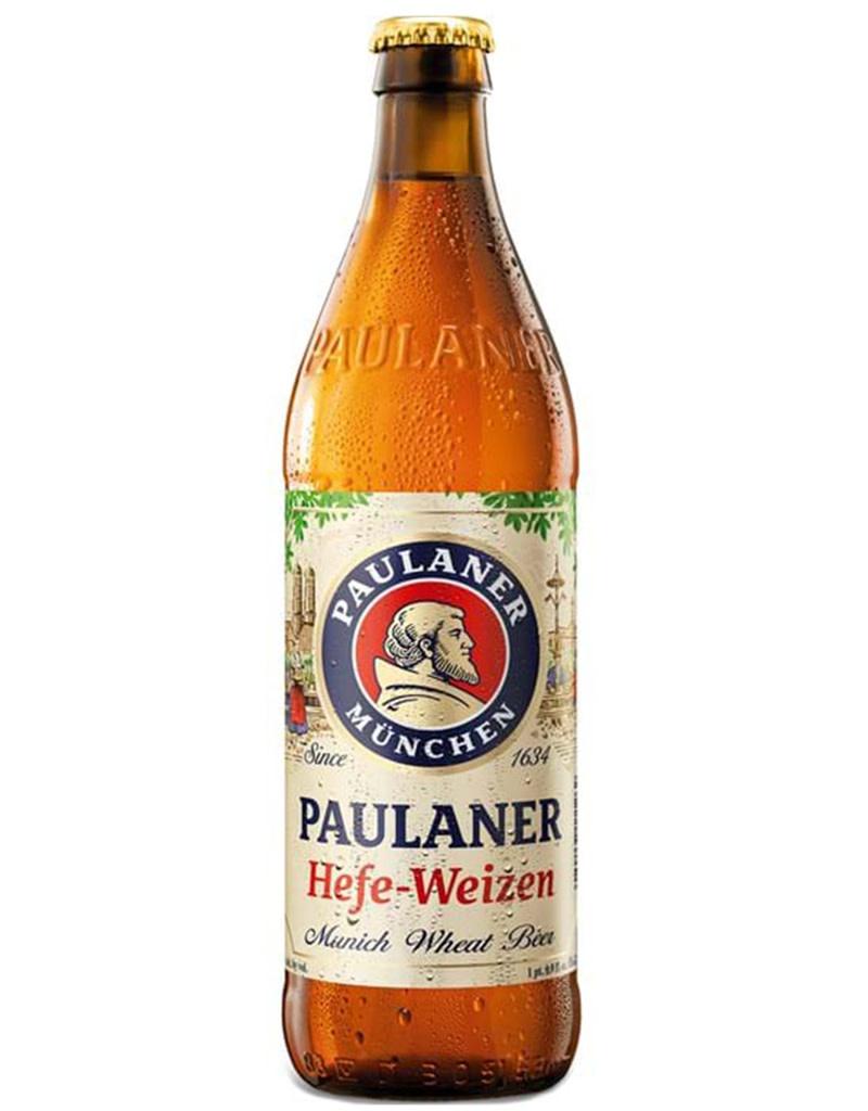 Paulaner Here-Weizen Munich, German 6pk Beer Bottles