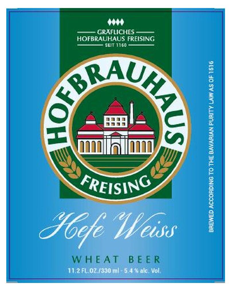 Hofbrau Munchen Hofbrauhaus Freising Hefe-Weiss, 6pk bottle