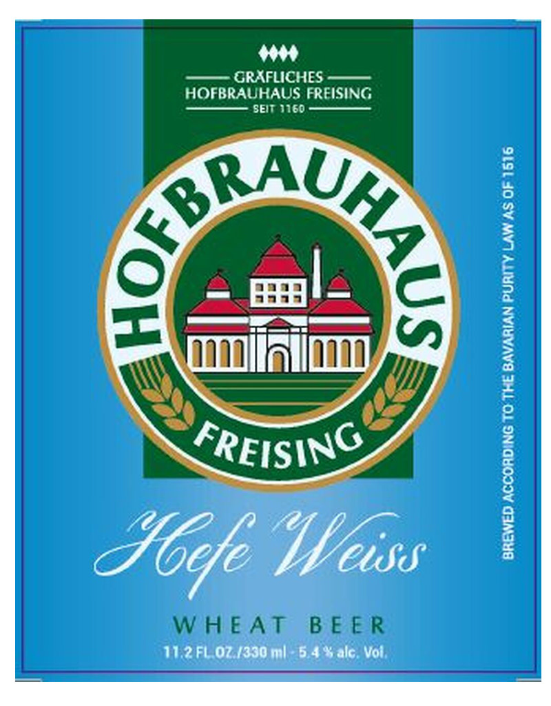 Hofbrauhaus Freising Hefe-Weiss, Germany 6pk Bottle