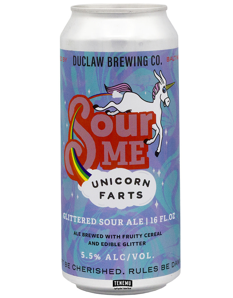 DuClaw Brewing Co. Sour Me Unicorn Farts Unfiltered Ale, Single Can