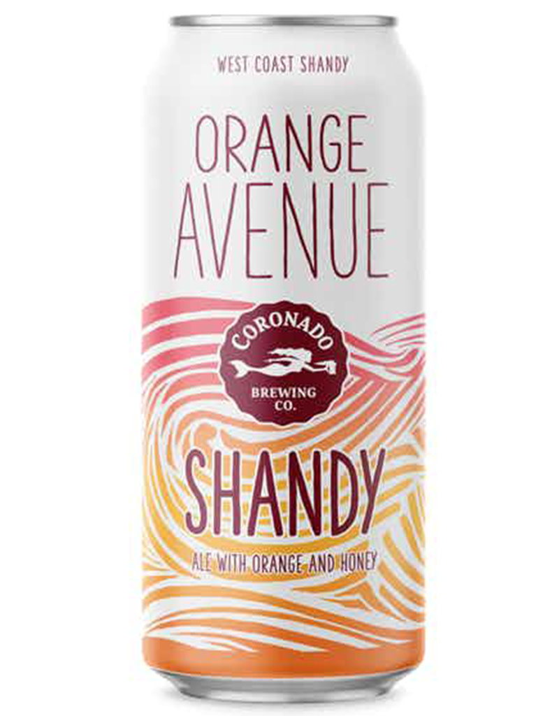 Coronado Brewing Co. Orange Avenue Shandy,  16oz Single Can