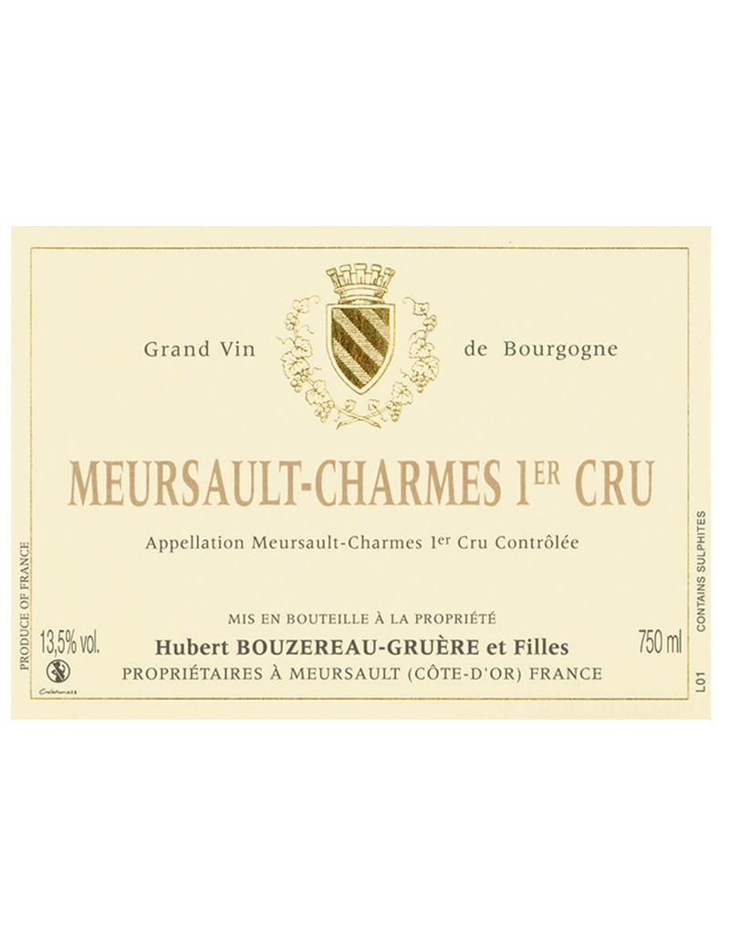 Domaine Hubert Bouzereau-Gruere et Filles 2017 'Les Charmes' Premier Cru, Meursault, Burgundy, France