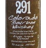 Distillery 291 'Colorado Bourbon' Whiskey, Colorado