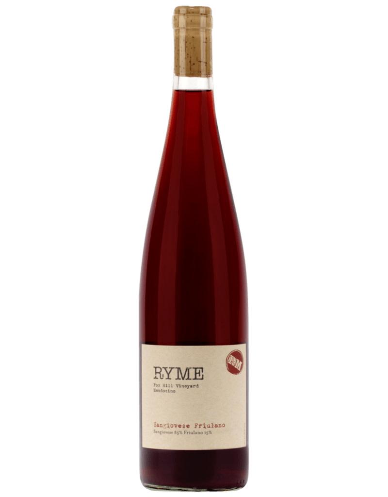 RYME Wine Cellars 2020 Fox Hill Vineyard Sangiovese - Friulano Mendocino, California