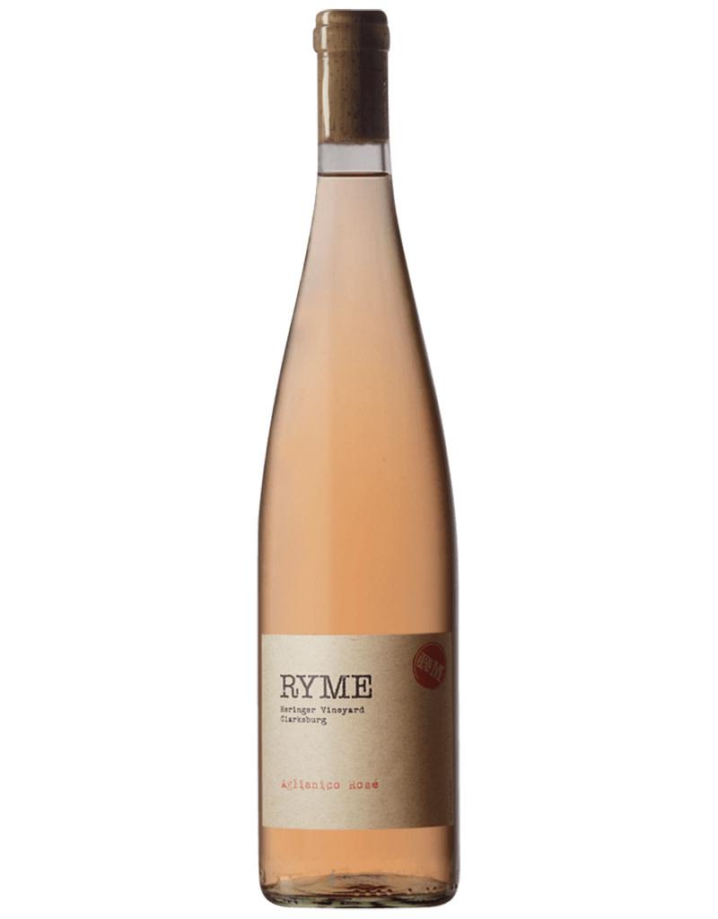 RYME Wine Cellars 2020 Heringer Vineyard Aglianico Rosé, Clarksburg AVA, California