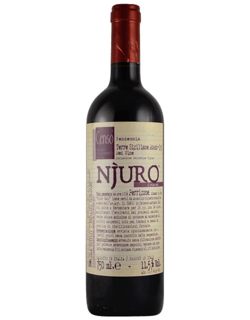 Il Censo 2016 'Njuro' Terre Siciliane Rosso IGT, Sicily, Italy