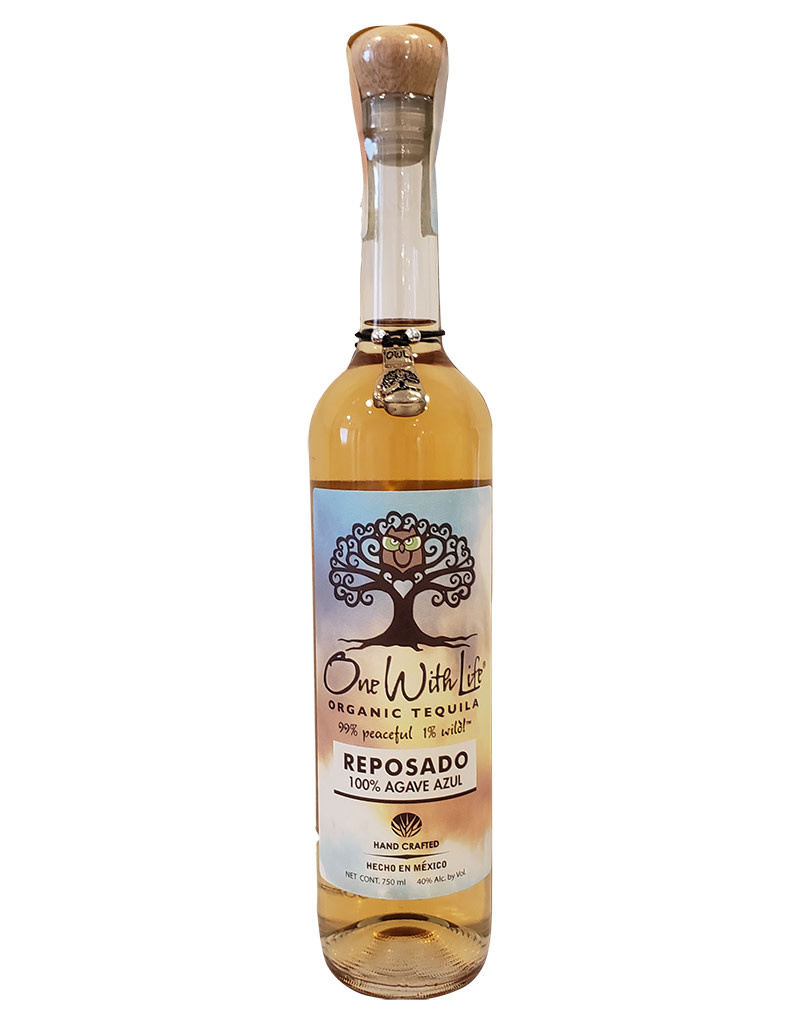 One With Life Tequila One With Life Organic Reposado Tequila, México