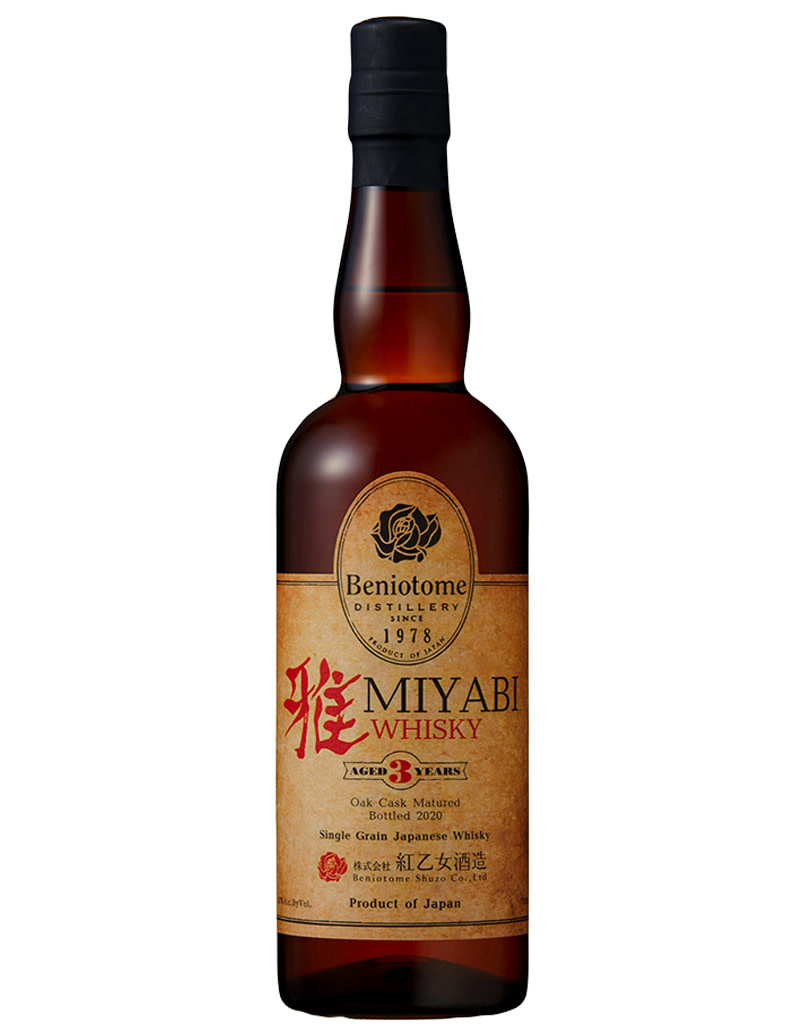 Beniotome Miyabi Whisky Aged 3 Years, Japan