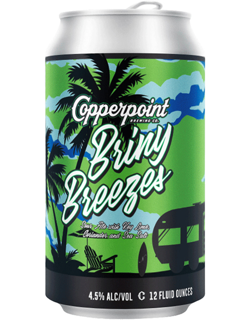 Copperpoint Brewing Co. Briny Breezes Sour, 6pk Cans