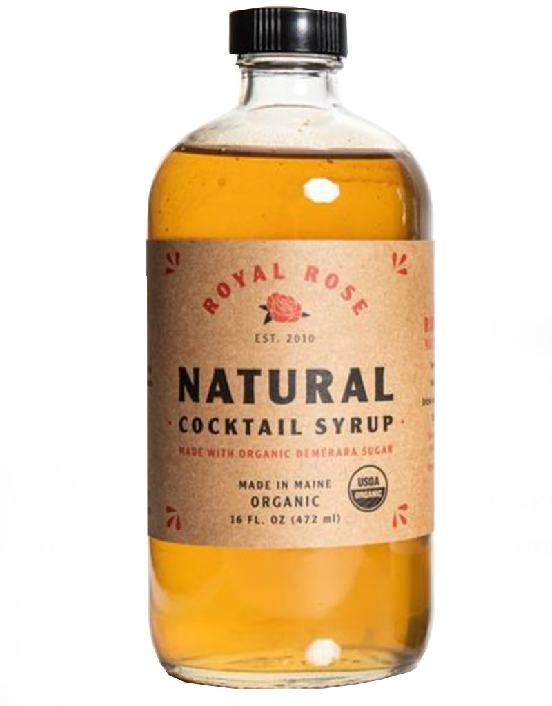 Royal Rose Natural Cocktail Simple Syrup