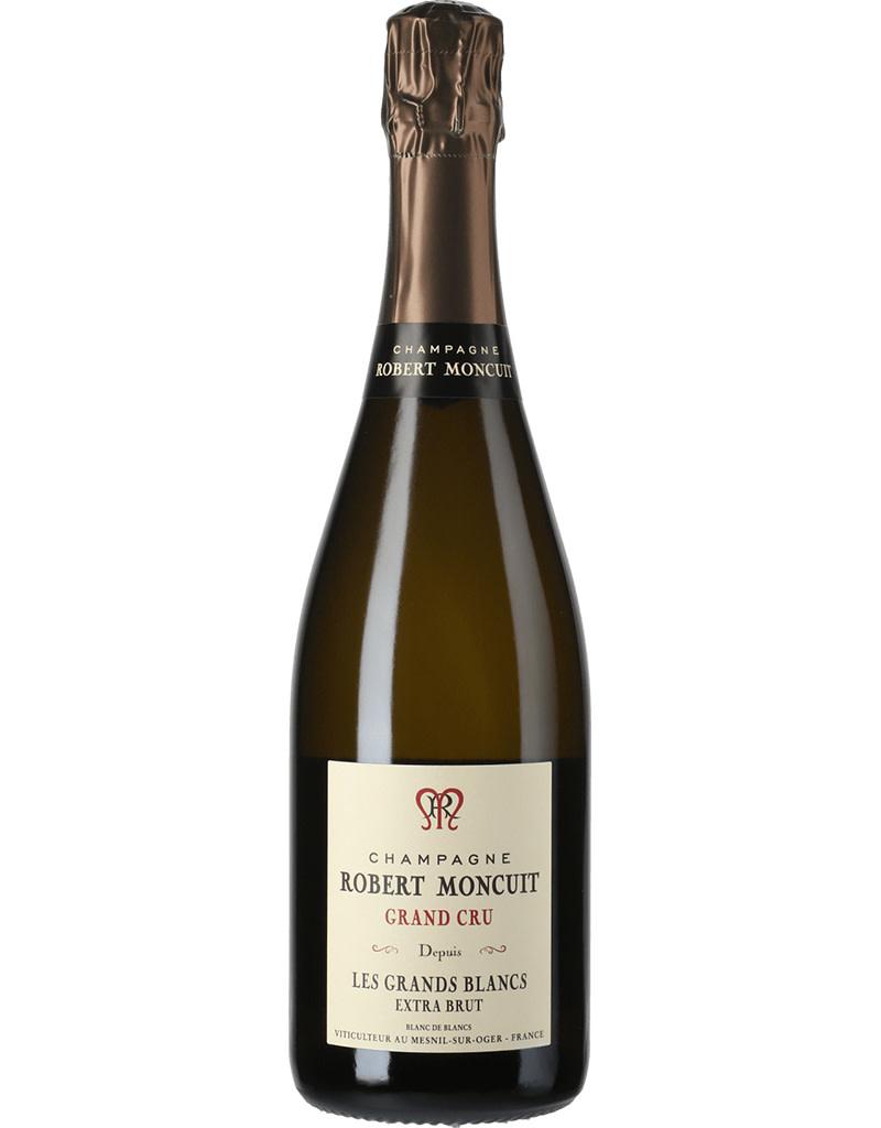 Robert Moncuit 'Les Grands Blancs' Blanc de Blancs Extra Brut Champagne, France