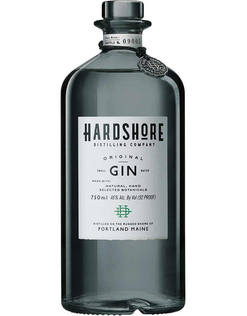 Hardshore Distilling Company Original Gin, Maine