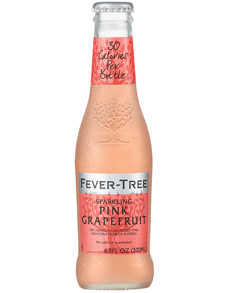 Fever Tree Sparkling Pink Grapefruit Soda, 500mL