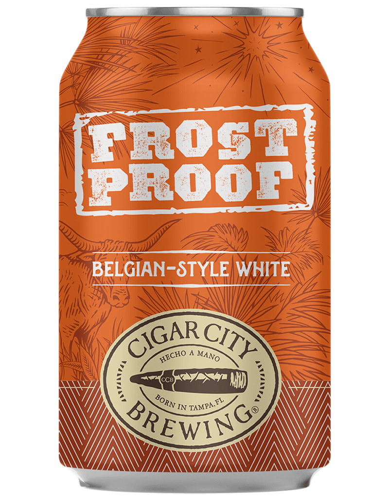Cigar City Brewing Co. Frost Proof Belgian-Style White Beer, 6pk Cans