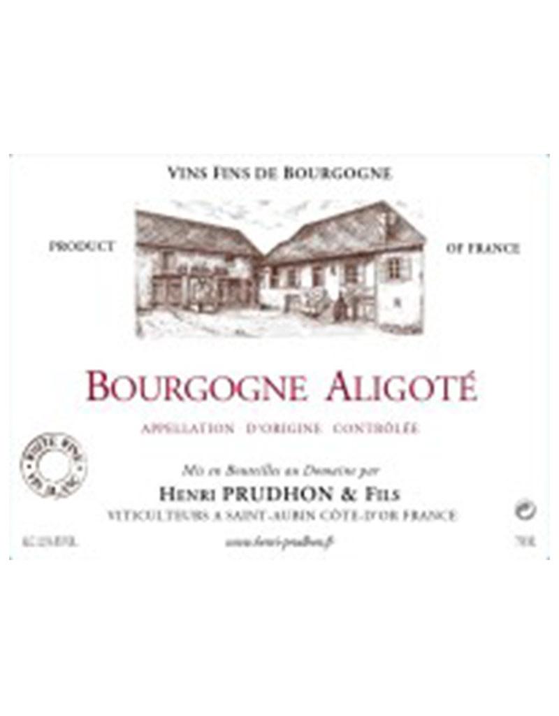Henri Prudhon & Fils 2018 Bourgogne Aligoté, Burgundy, France
