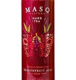MASQ Fusions Hard Tea Dragon Fruit Acai, Minnesota, USA 4pk Cans