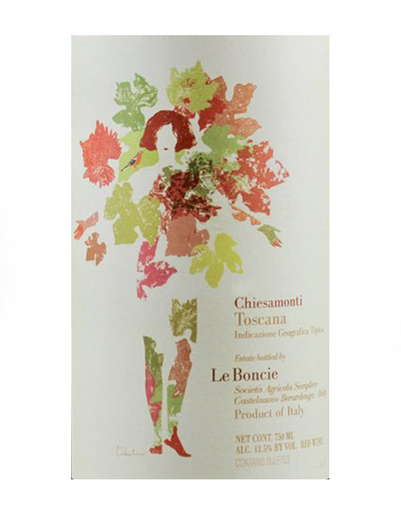 Podere Le Boncie 2018 Chiesamonte, Rosso di Toscana, Italy