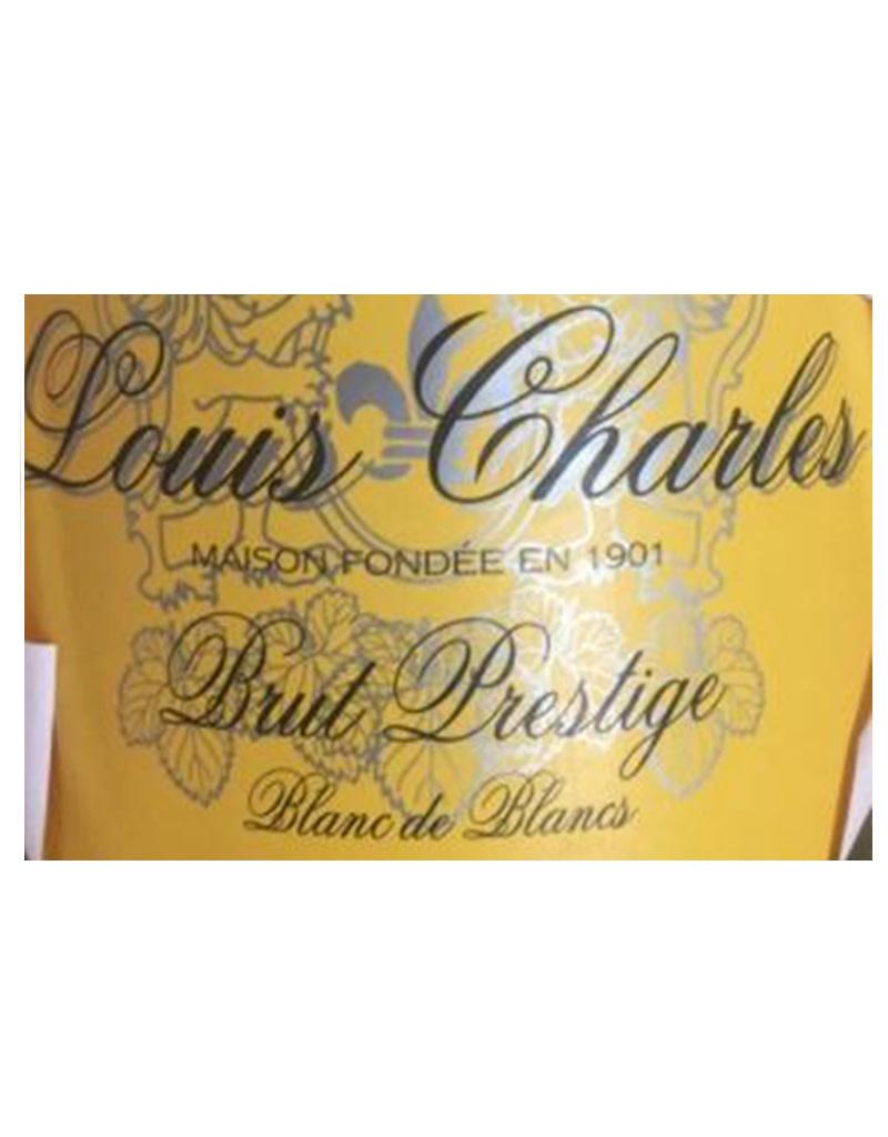Louis Charles Brut Prestige Blanc de Blanc Sparkling, France