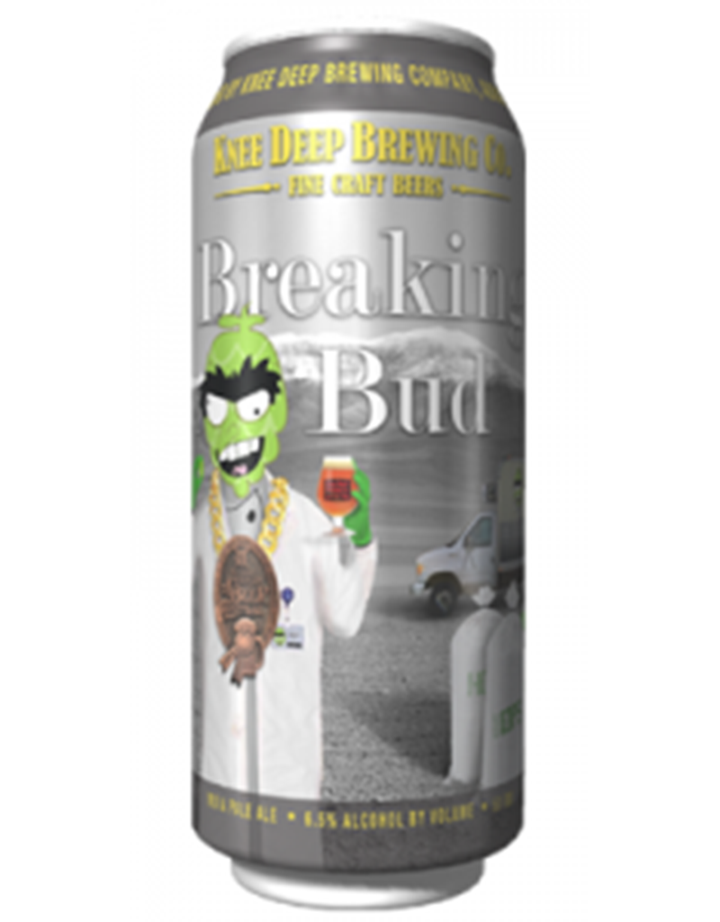 Knee Deep Brewing Co. Breaking Bud IPA, 16oz Single Can