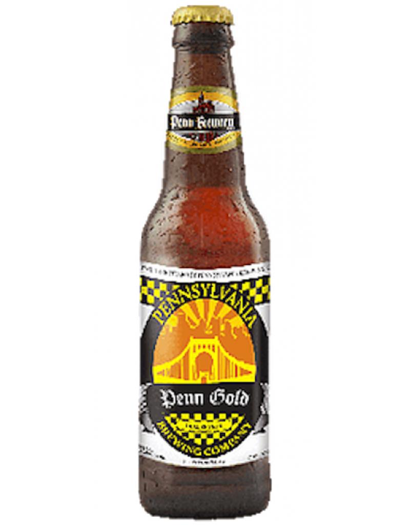 Penn Brewery Penn Gold Munich Helles Lager, 6pk Bottles