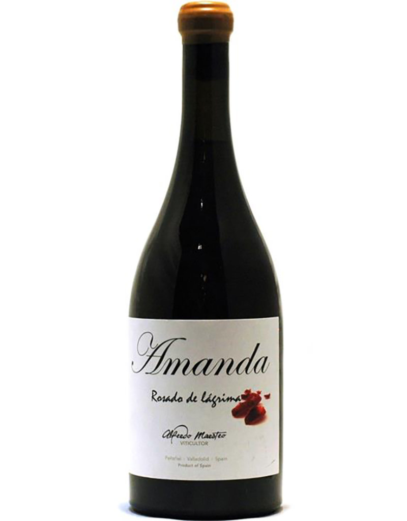 Bodegas Alfredo Maestro Tejero 2020 'Amanda', Rosado de Lagrima, Vino de la Tierra de Castilla y Leon, Spain
