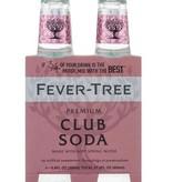 Fever Tree Spring Club Soda 200mL, 4pk