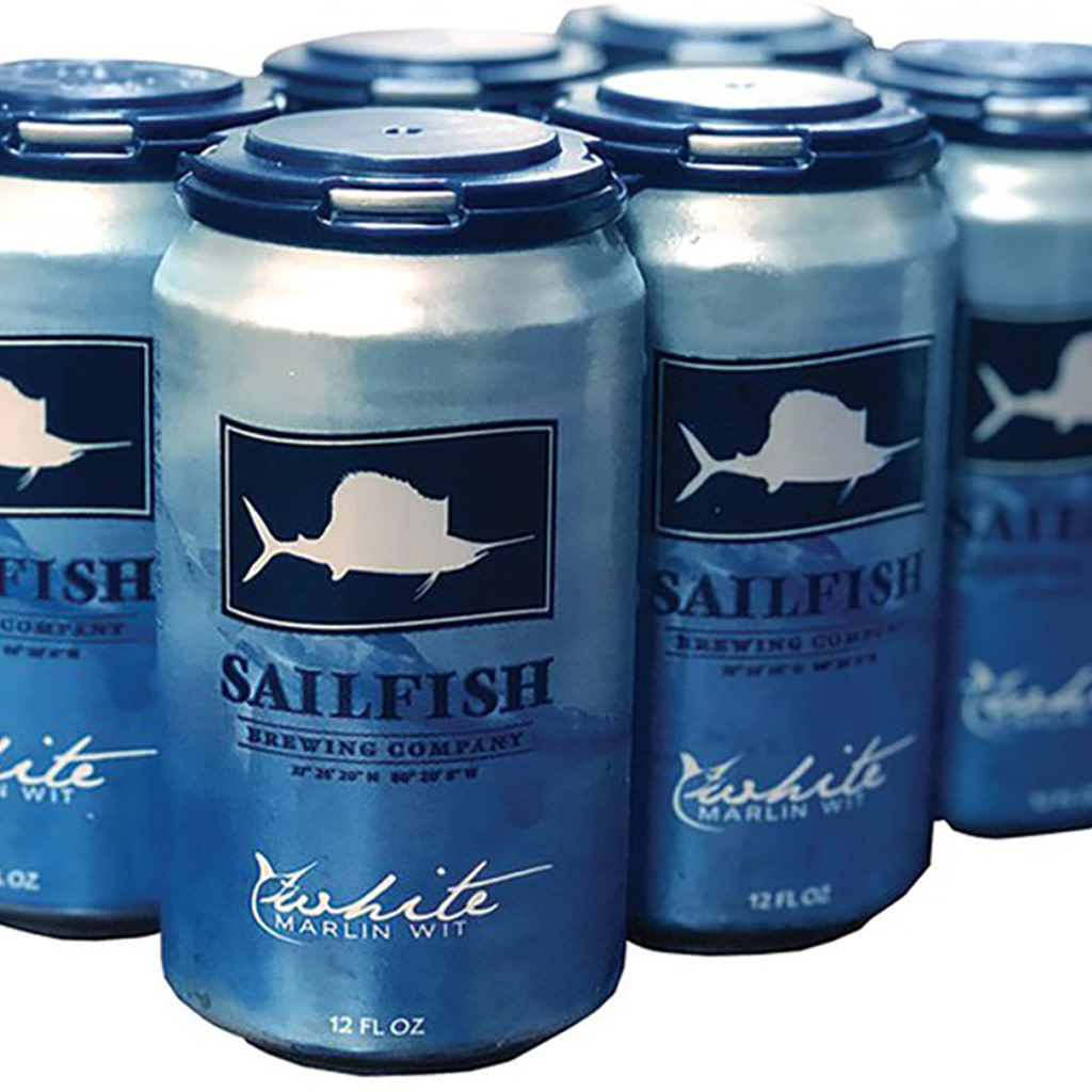 Sailfish Brewing Company White Marlin Wit, 6pk Cans