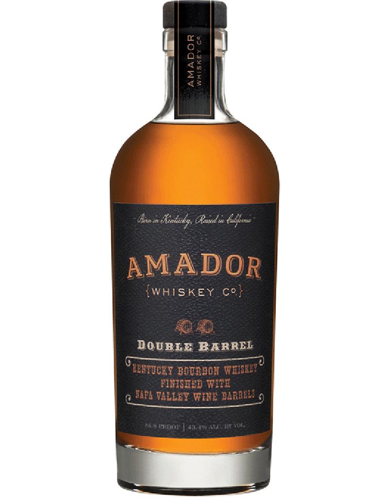 Amador Whiskey Co. Double Barrel Bourbon, Chardonnay Finish, Whiskey Kentucky