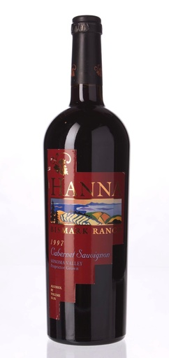 Hanna Ranch 1997 'Bismark Ranch' Cabernet Sauvignon, Sonoma