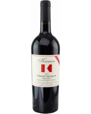 Keenan Winery and Vineyards Keenan 2015 Cabernet Sauvignon Reserve, Spring Mountain, Napa Valley, California